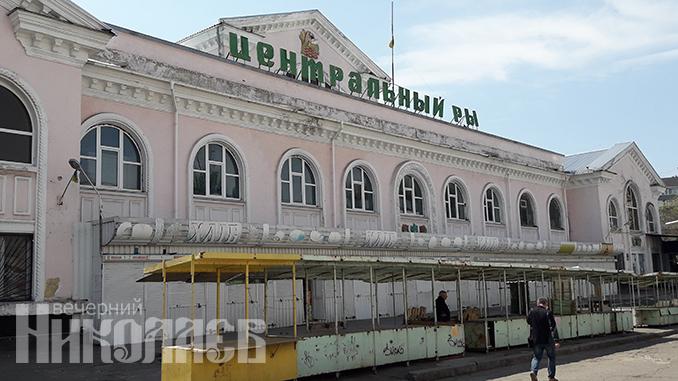 Центральный Рынок, продавец, маска, рынки в Николаеве, карантин, торговля