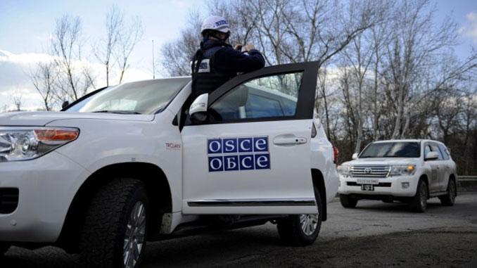 ОБСЕ, СММ, Украина, РФ, Россия, война, Донбасс, разведение войск