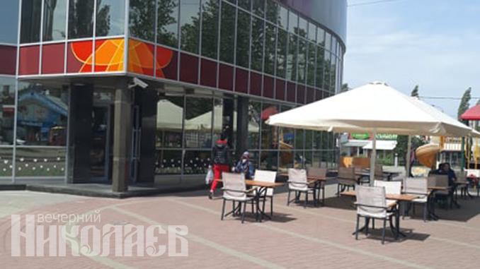 Ослабление карантина с 11 мая, карантин в Николаеве, рынок Колос, рынки Николаева, летняя площадка кафе
