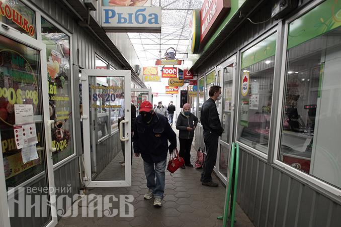 Рынок, маска, рынки в Николаеве, карантин, торговля