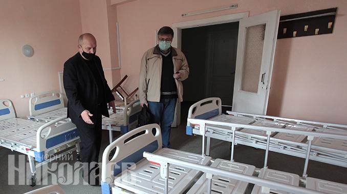 Городская больница №3, Дубки, коронавирус в Николаеве (с) Фото - Александр Сайковский, ВН