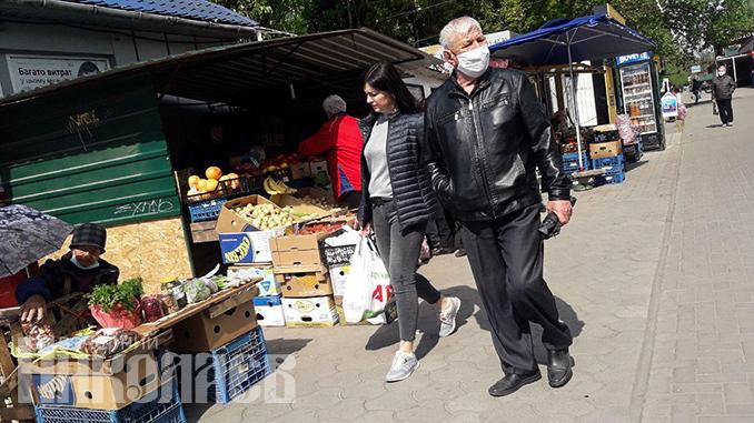 """Рынки в Николаеве, рынок """"Колос"""", 1 мая, карантин в Николаеве, коронавирус"""