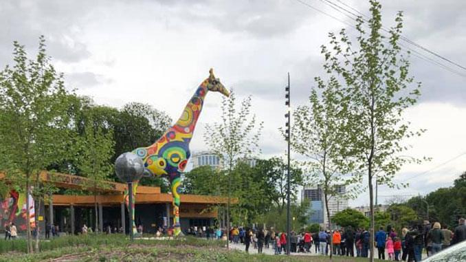 киев зоопарк, карантин, ремонт, реконструкция, зоопарк, Киев, новости, очереди, парковка, нарушения