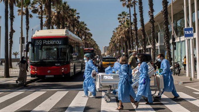 Коронавирус в Испании, пандемия, карантин в Европе