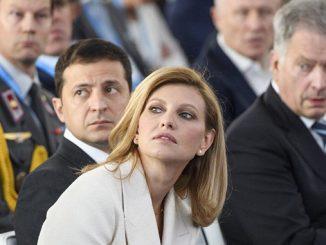 Владимир Зеленския, Елена Зеленская