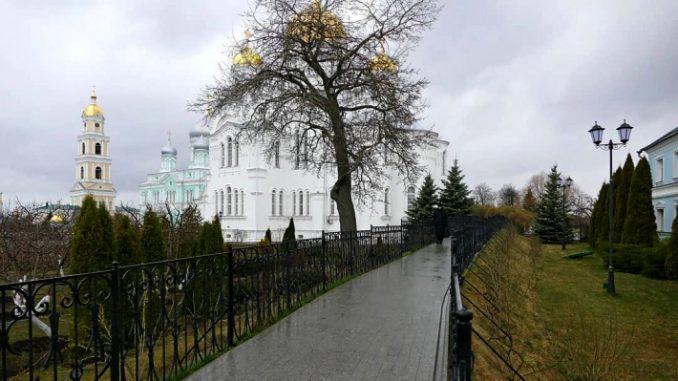 Дивеевский монастырь, Россия, Нижний Новгород, коронавирус в России