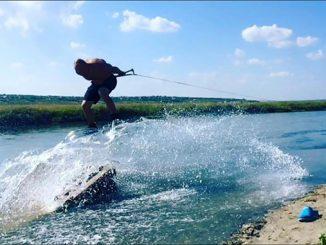 Кайт-фестиваль, водный спорт, Тилигульский лиман
