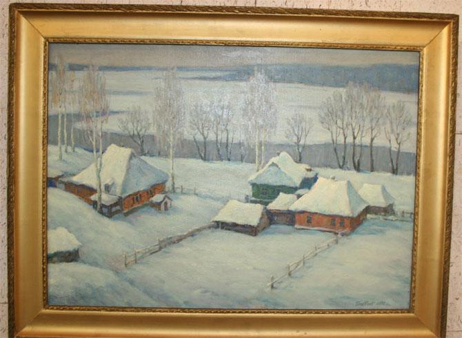 Николаевский художник Николай Главчев