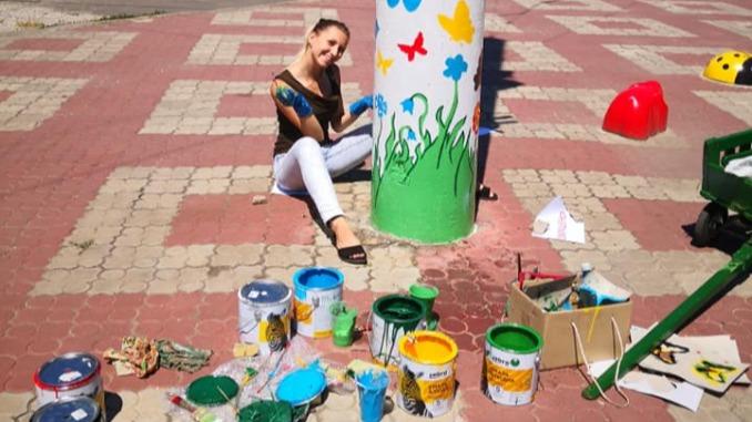 Площадь перед зоопарком, Николаев, новости, зоопарк, Николаев, благоустройство