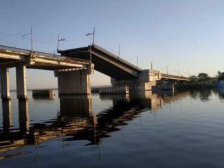 Ингульский мост в Николаеве сам развелся