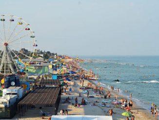 Кирилловка, море, пляж, отдых