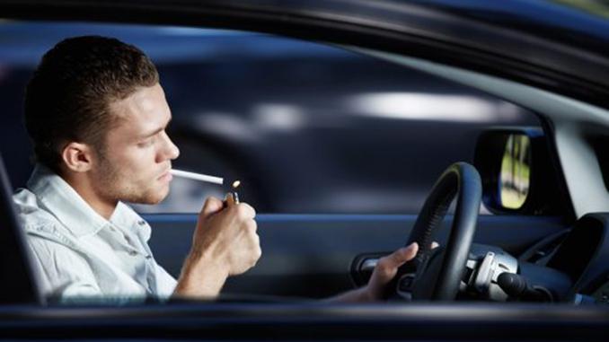 Штраф за выброшенный окурок, курение в автомобиле, авто, водитель, Верховна Рада