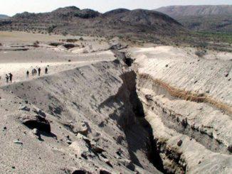 Африка, разлом Даббаху, пустыня, изменения климата, глобальное потепление