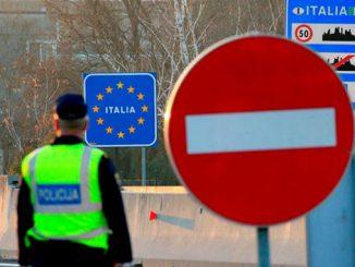 Италия, границы, ЕС, Европа, Европейский союз, новости, коронавирус, Шенген, здоровье, карантин, COVID-19,