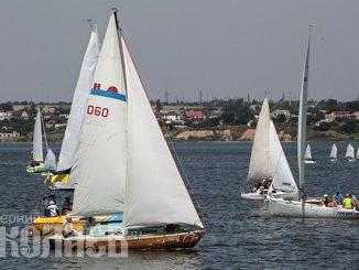 Яхты, яхтенный спорт, лето, погода, День ВМС в Николаеве, яхт-клуб (с) Фото - Александр Сайковский, ВН