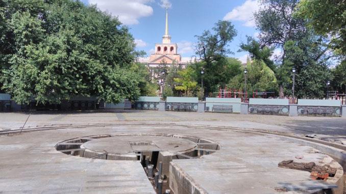 Сердце города, Николаев, сквер, реконструкция, новости, работы,