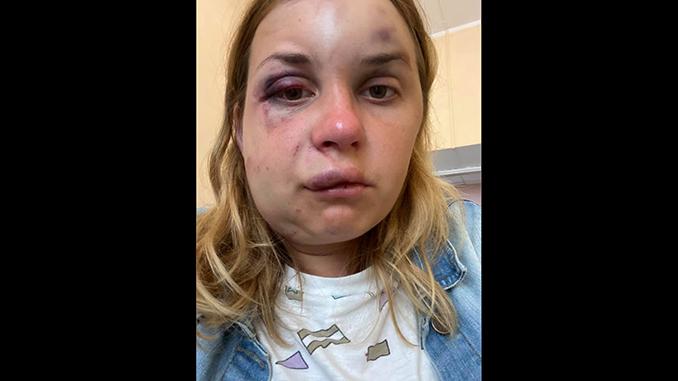 Анастасия Луговая, попытка изнасилования в поезде Киев-Мариуполь