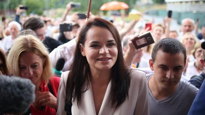 Светлана Тихановская, выборы в Беларуси, белорусский Майдан