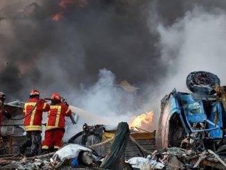 Ливан, Бейрут, взрыв в Бейруте, протесты в Ливане, отставка правительства
