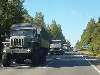 Автозак, Путин вводит войска в Беларусь, военная техника, Росгвардия, машина, армия