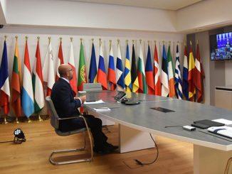 Встреча лидеров ЕС, видеоконференция, Евросоююз, Беларусь, протесты в Беларуси