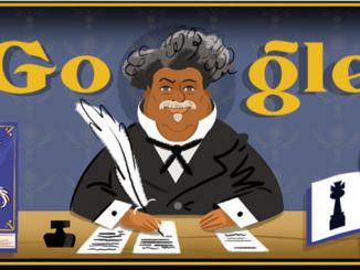 Google, doodle, дудл, Алексанр Дюма