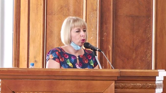 Анна Лычко, гороно Николаева