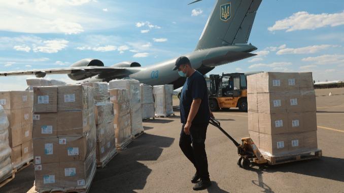 Украина передала Ливану, Украина, Ливан, гуманитарная, помощь, новости, взрыв, Бейрут, селитра, ГСЧС