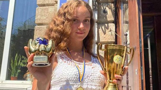 Ученица Первой украинской гимназии, новости, фестиваль, конкурс, Талантливый Я, Мария Смирнова