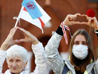 Женский марш, Беларусь, протесты в Беларуси, белорусский Майдан
