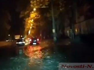 Дормашина, ливневки, ливень в Николаеве, канализация, потоп в Николаеве