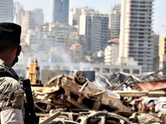 Пожар в Бейруте