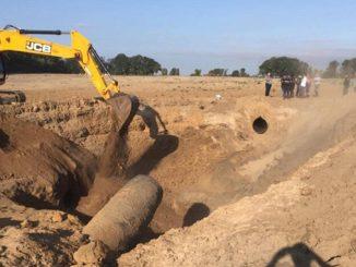 В Чабанах (Киевская область) взорвался газопровод Уренгой - Помары - Ужгород
