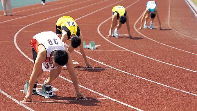 Легкая атлетика, бег, соревнования, спорт