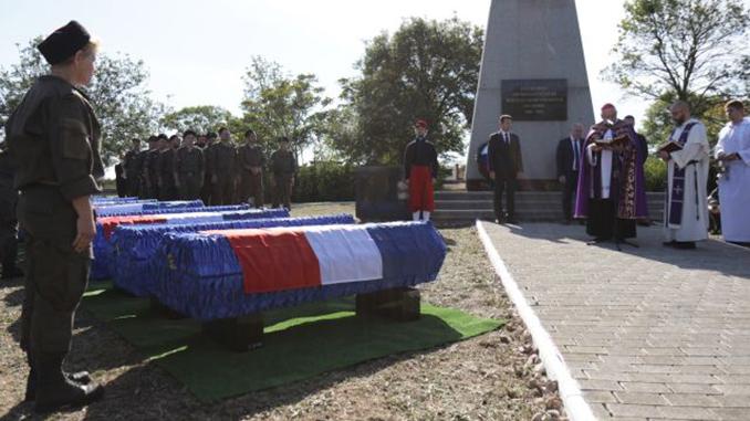Оккупированный Крым, аннексия Крыма, перезахоронение французских солдат, МИД Украины