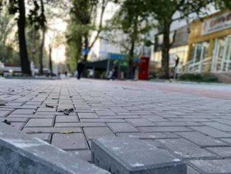 ремонт тротуаров, Николаев, департамент, ЖКХ, новости, ремонт, тротуар, Николаев, плитка