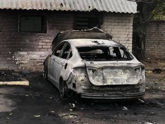 Денис Жело, автомобиль, поджог, Ford Fusion, новости Николаева, политика, местные выборы