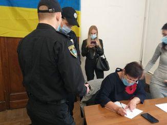 Николаевский избирком, избирательная комиссия, сейф