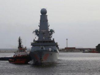 """порт Одессы """"Дракон"""", новости, Дракон, Одесса, Украина, Великобритания, эсминец, КВМФ, ПВО, корабль, Уэльс,"""