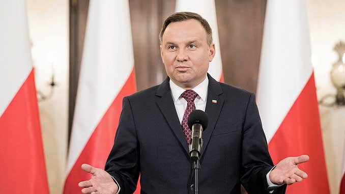 Президент Польши, Анджей Дуда, Польша, новости, коронавирус, пандемия, COVID-19, здоровье,