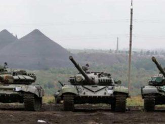на Донбассе, оккупанты, война, РФ, Донбасс, Украина, танки, Мотузяник, разведка, Резников, Т-72Б, Т-64