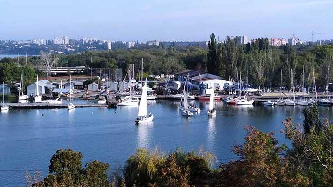 парад водных видов спорта, Николаев, регата, парусный спорт, яхты, яхт-клуб, новости, Сенкевич, спорт, парад, гонка,