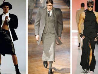 Мужское платье, мода, подиум