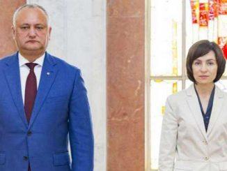 Додон проигрывает Санду, выборы, президент, Молдова, новости, политика,