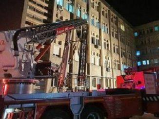 Пожар в госпитале для COVID-19 в Румынии