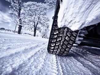 Автомобиль, снег, зима, шины, гололед, зимняя резина, погода