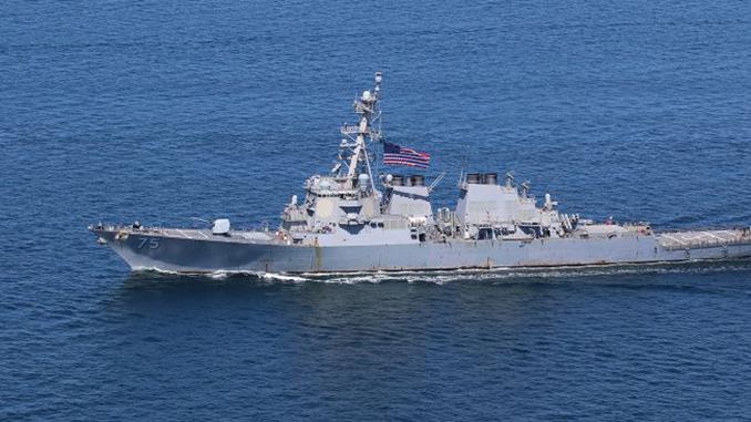 В Черное море направляется эсминец США Donald Cook, Дональд Кук