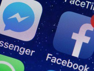 Facebook ,сбой, новости, Messenger