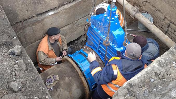 Николаевводоканал, заглушка, Рюмина, Дунаева, отключение воды, где в Николаеве не будет воды