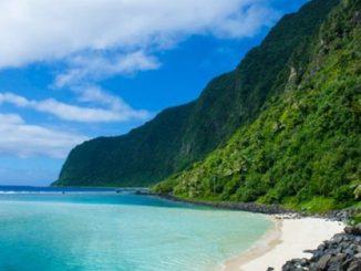 Самоа и Тонго, Тихий океан, Новый год 2021, тропики, пляж